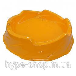 Арена маленькая круглая оранжевая