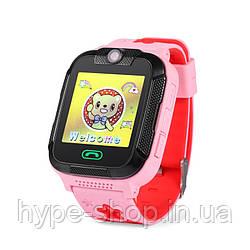 Дитячі розумні GPS-годинник Wonlex Smart Baby Watch GW2000 рожеві