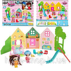 "Игровой набор \""Куколки LOL OMG: Mini villa\"" с 2 куклами"