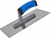 Тёрка Kubala 130Х270 мм нержавеющая гладкая с закругленными углами ручка G-1