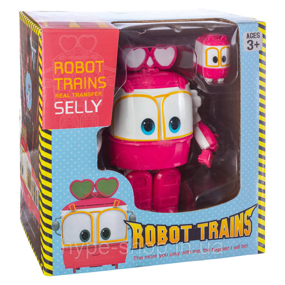 Робот Поезд Robot Trains Селли (Selly) розовый