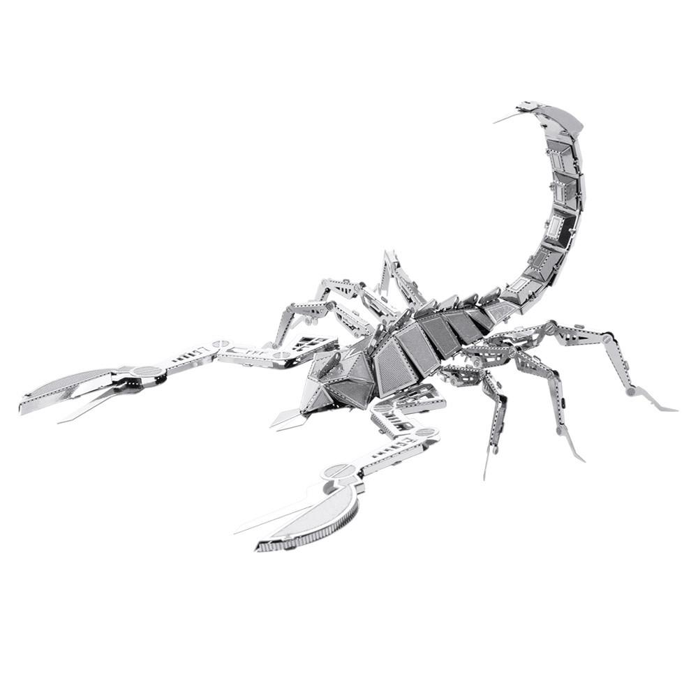 Металлический 3D-пазл (конструктор) Скорпион