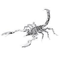 Металлический 3D-пазл (конструктор) Скорпион, фото 1