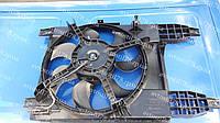 Вентилятор радиатора в сборе Авео,Вида Т-255 с/к (после 2009 г.в) 95950465, фото 1