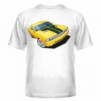 Футболка Авто желтый