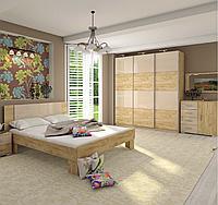 Модульная спальня Миа , шкаф купе Квадро 2400