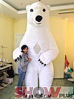 Надувной костюм (пневмокостюм) Белый Мишка Теодор