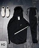 Спортивный костюм мужской Nike черный, фото 2