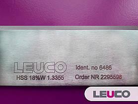410х30x3 HSS 18% Строгальные (фуговальные) ножи Leuco для фуганков и рейсмусов, фото 3