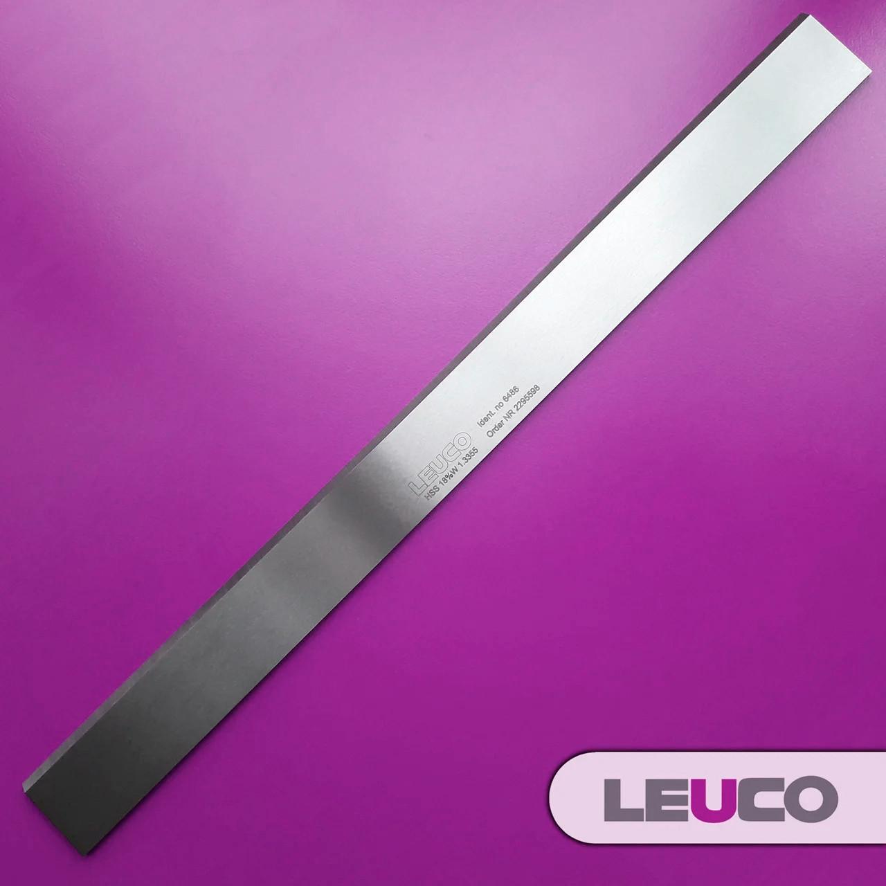 410х30x3 HSS 18% Строгальные (фуговальные) ножи Leuco для фуганков и рейсмусов
