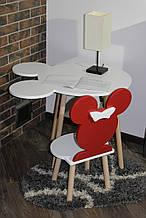 Комплект детской мебели стульчик и стол Сет Mikky (Луна)