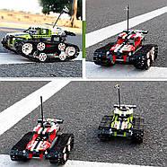 Радиоуправляемый конструктор Танк (402 детали) Красный, фото 2