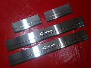 Накладки на пороги FORD C-MAX 04-10г.в.