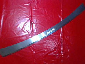 Накладка на задний бампер с загибом MITSUBISHI ASX