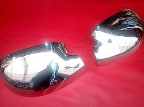 Накладки на зеркала нерж Dacia Logan 2004-2008