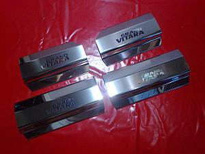 Накладки на пороги Suzuki Grand Vitara