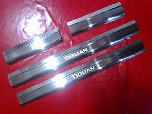 Накладки на пороги стандарт Volkswagen Tiguan 2007-2015
