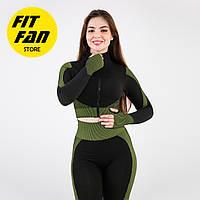 Женский спортивній костюм для фитнеса бега йоги Fit Fan Look Good