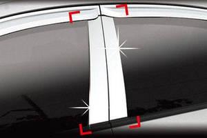 Накладки на стойки Kia Cerato 2004+