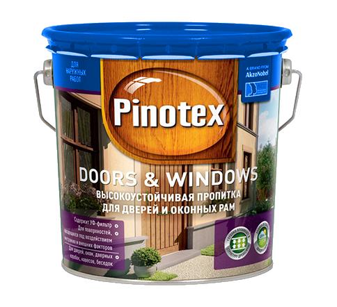 Pinotex (Пинотекс) Doors (Дорс) & Windows (Виндовс) 3л