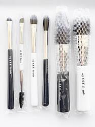 Набір кистей CORINGCO Marine Blue Make-Up Brush Collecion 6pcs / set