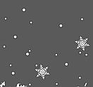 Наклейка Новогодняя ночь с дедом Морозом, зимней деревней и снежинками, фото 7