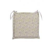 Подушка на стул Квіти-Олива
