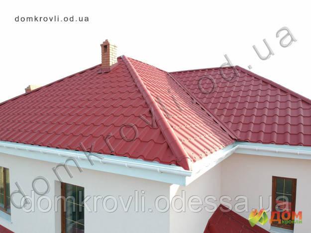 Металлочерепица Афина PEMA High Build Словакия 0,5