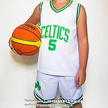 """Баскетбольная детская форма """"CELTICS"""" GARNETT"""