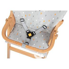 Чехол вкладка для стульчика Nordik Warm Grey Safety, фото 2
