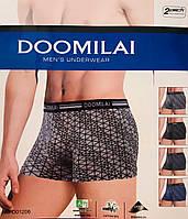 Труси чоловічі боксери бамбук + бавовна DOOMILAI розмір XL-4XL(48-54)