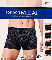 Трусы мужские боксёры хлопок + бамбук DOOMILAI размер XL-4XL(48-54) 01215