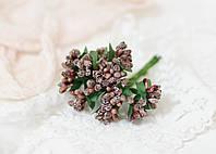 Добавка з ягідками коричневого кольору 10-12 шт