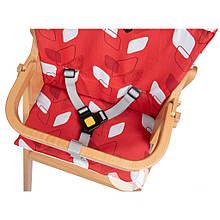 Чохол вкладка для стільчика Nordik колір red campus Safety