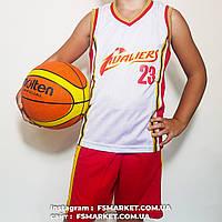 """Баскетбольная детская форма """"CLEVELAND"""" JAMES, фото 1"""