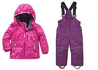 Зимний термокомбинезон TopolinoТополино для девочки 80, 86, 92 см раздельный розовый, фото 1