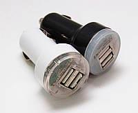 Автомобильная USB зарядка от прикуривателя 12v 002