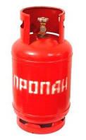 Баллон пропановый бытовой газовый 27 литров среднего размера