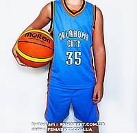 """Баскетбольная детская форма """"OKLAHOMA CITY"""" DURANT, фото 1"""