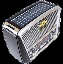 Радіоприймач GOLON RX-455S - портативний радіоприймач з сонячної панель - колонка MP3 з USB і акумулятором, фото 2
