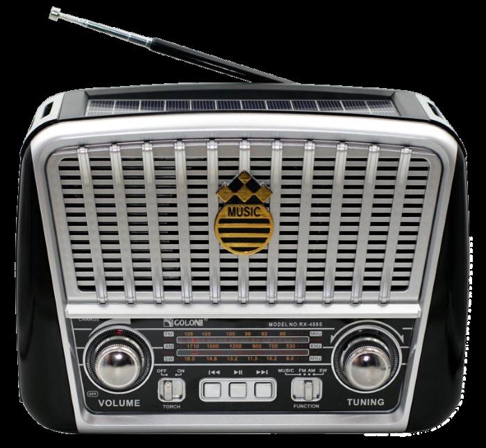 Радіоприймач GOLON RX-455S - портативний радіоприймач з сонячної панель - колонка MP3 з USB і акумулятором