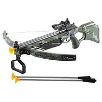 Арбалет с лазерным прицелом и стрелами