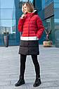 Женское демисезонное пальто- куртка Томи ТМ Miorichi Размеры 42- 52, фото 2