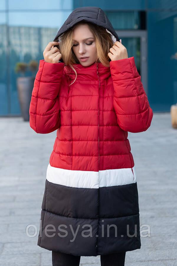 Женское демисезонное пальто- куртка Томи ТМ Miorichi Размеры 42- 52