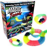 Гнучкий і світиться гоночний трек Magic Tracks (220 деталей) # 051601