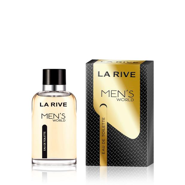 Мужская туалетная вода La Rive Man's World 90ml реплика La Rive