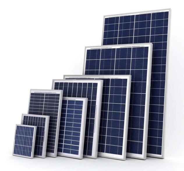 Монокристаллическая солнечные панели