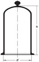 Сосуд колоколообразный (стеклянный колпак)