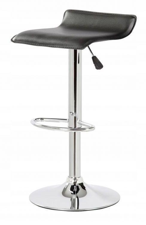Стілець барний Хокер кухонний Hoker Goodhome 5060-1 BLACK