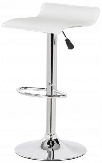 Хокер Білий стілець барний кухонний Hoker Goodhome 5060-1 WHITE